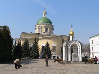 Данилов мужской монастырь в Москве, Троицкий собор