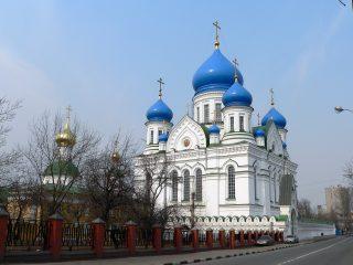 Николо-Перервинский монастырь в Москве, Никольский и Иверский соборы