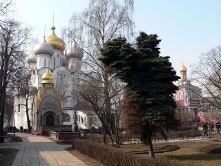 Новодевичий монастырь в Москве, часовня Прохоровых, Смоленский собор, Успенская церковь