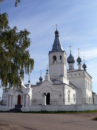 Адрес храма: Ярославская