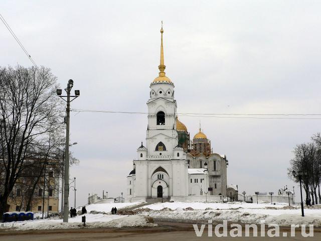 Владимир с 1158 г становился центром